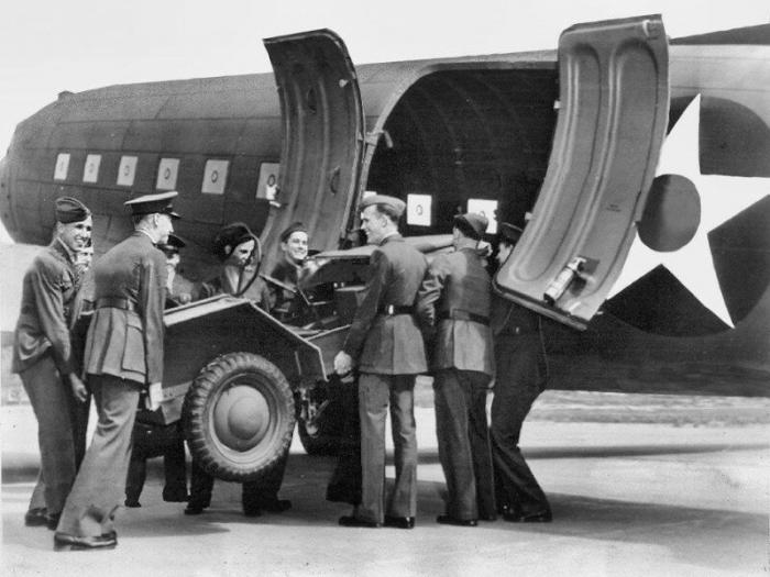 Американский авиадесантный внедорожник CT3 Crosley Pup