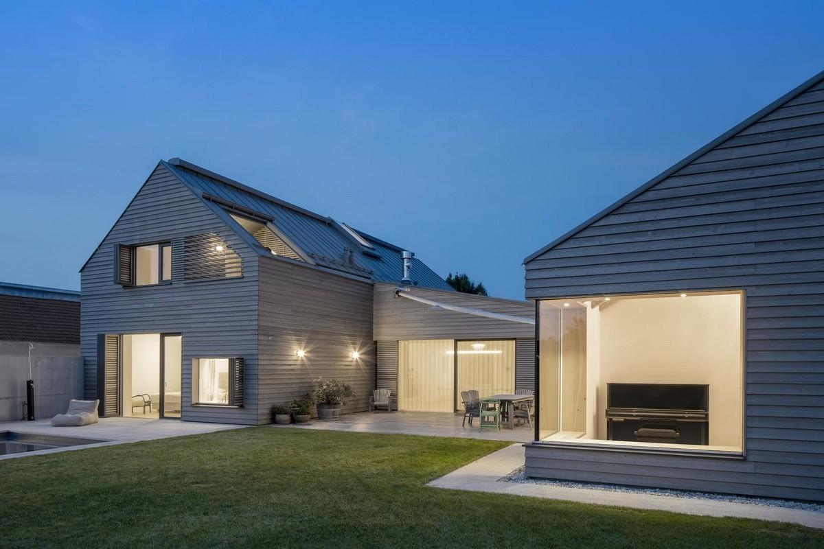 Резиденция с двускатной крышей в Австрии