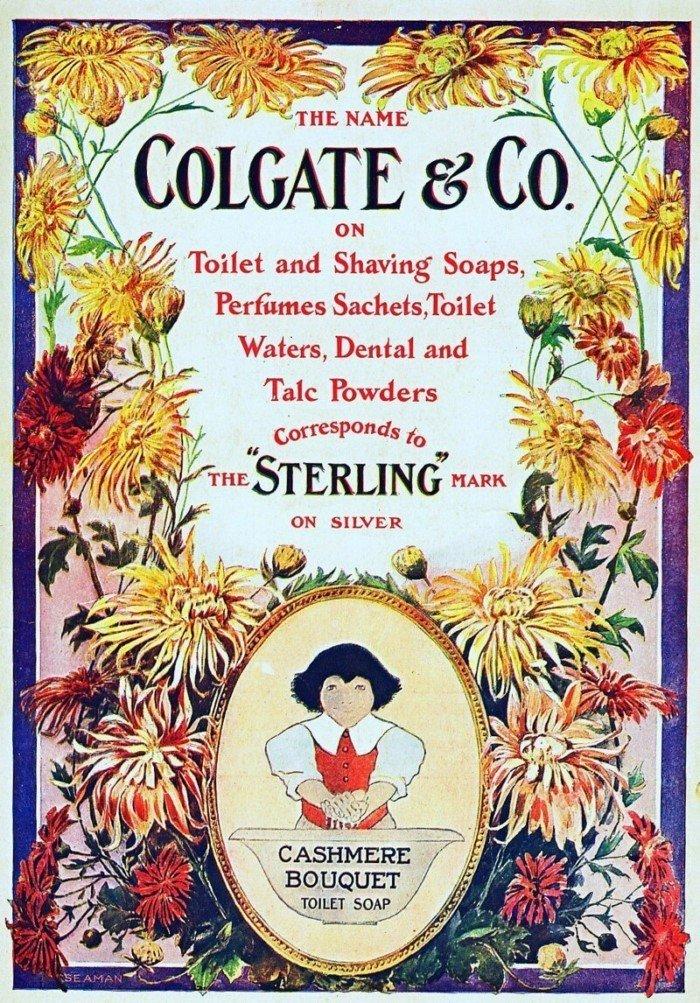 15 первых плакатов известных фирм