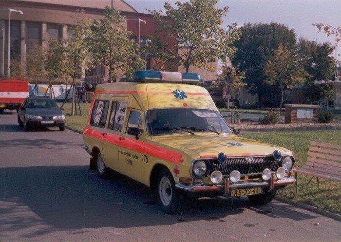 Специальная медицинская Волга