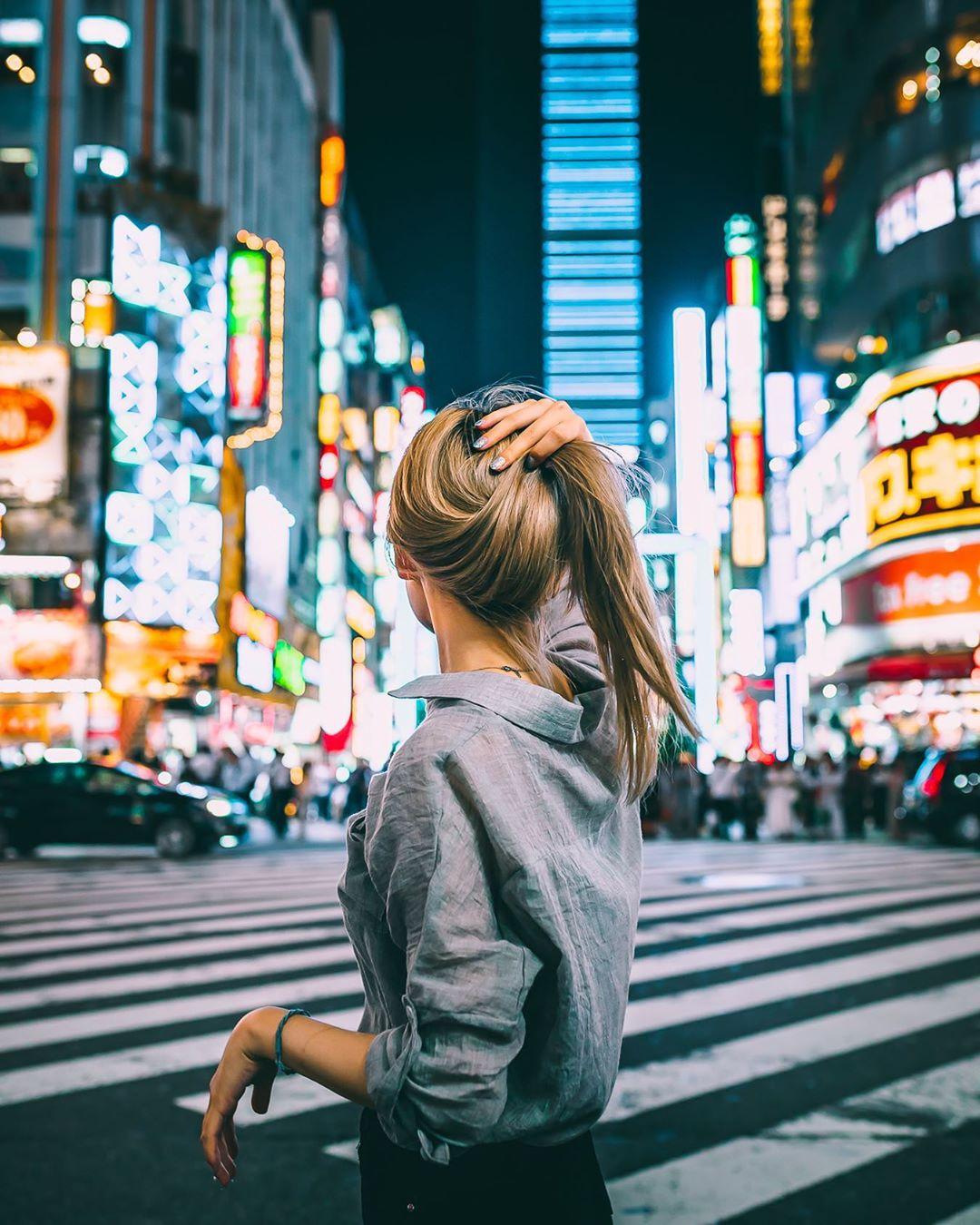 Городские и уличные снимки Токио от Юсуке Кубота