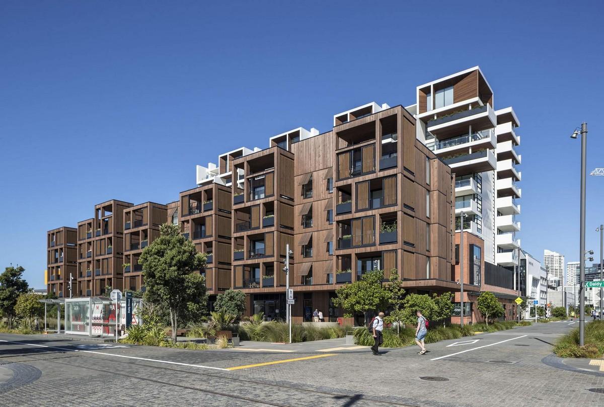 Многоквартирный жилой комплекс в Новой Зеландии