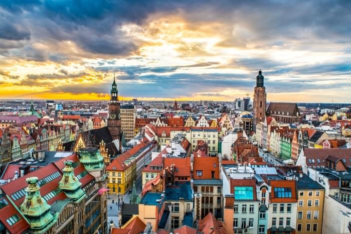 Самые разноцветные города мира