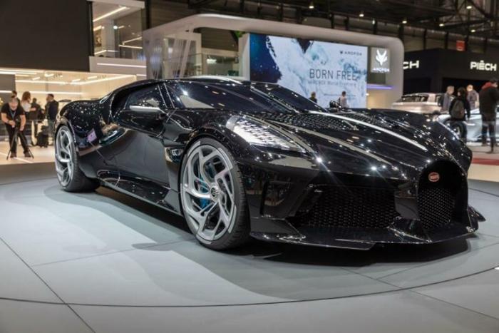 Самый дорогой автомобиль в мире Bugatti La Voiture Noire