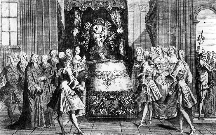 Как проходили роды королев в старину