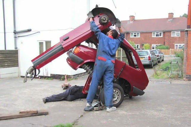 Превращение старенького Ford Fiesta