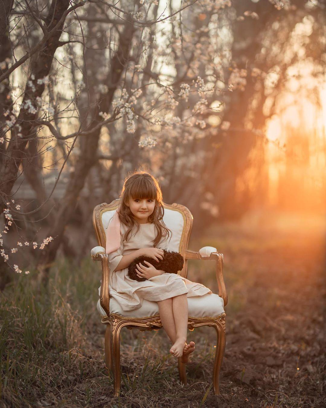 Радость детей на снимках Марии дель Валле Прессер