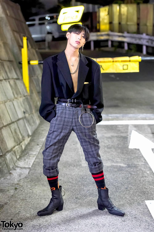 Стильные наряды японских модников на улицах Токио