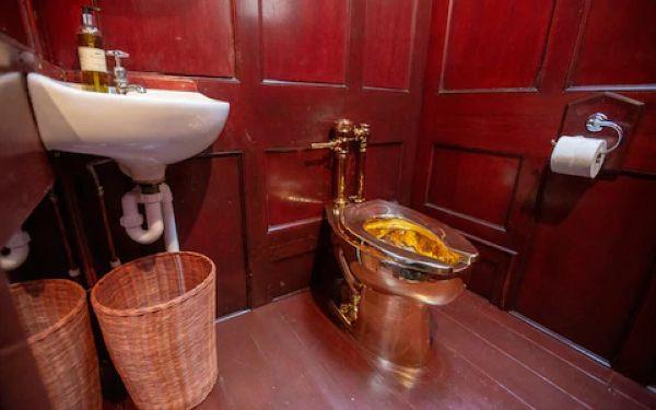 В Британии из Бленхеймского дворца украли золотой унитаз