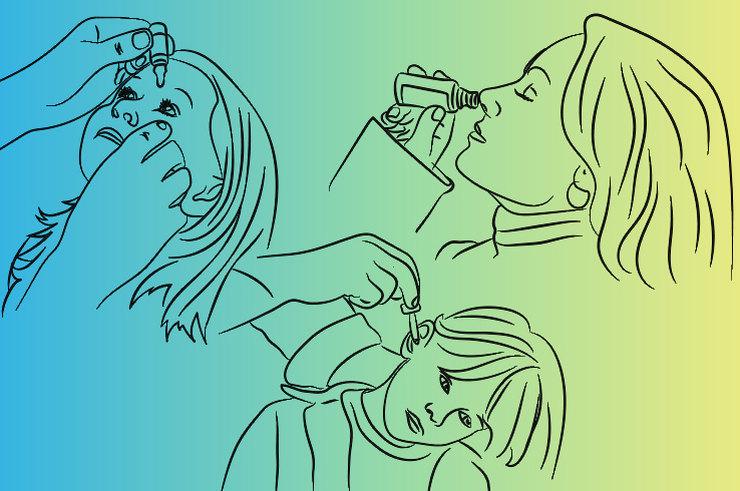 Как правильно закапать аптечные капли