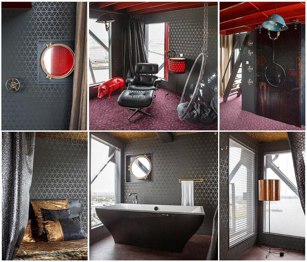 Необычный и просто безумный отель Амстердама
