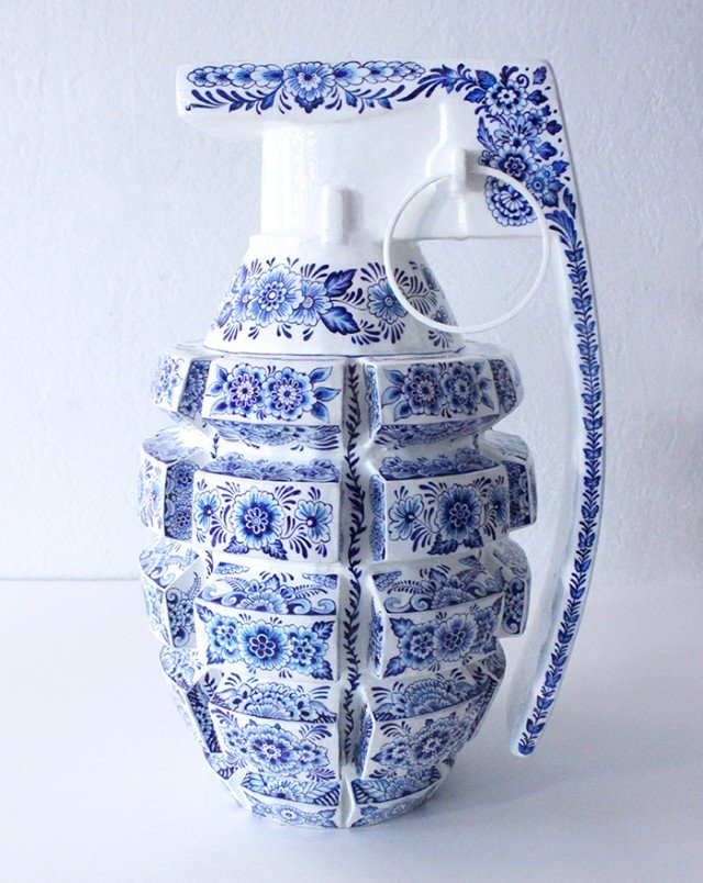 Набор керамического оружия от художницы из Франции