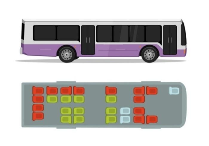 Самые безопасные места в разных видах транспорта