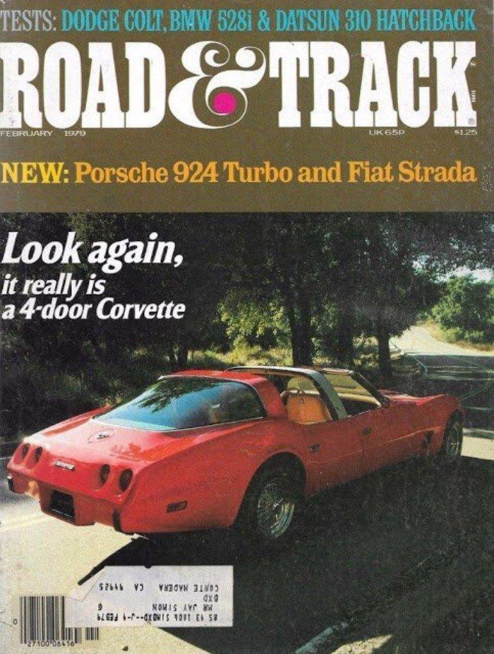 Самый редкий в мире Chevrolet Corvette 1980 года
