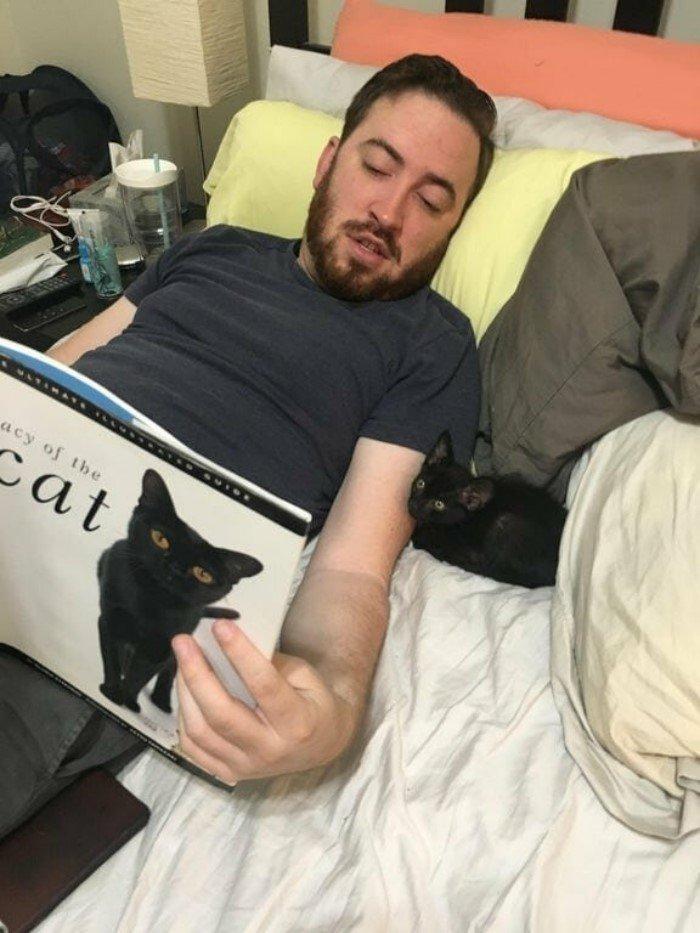 15 новоиспеченных хозяев с котиками, которых взяли из приюта