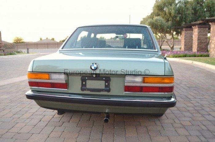 BMW 518i 1985 года с небольшим пробегом