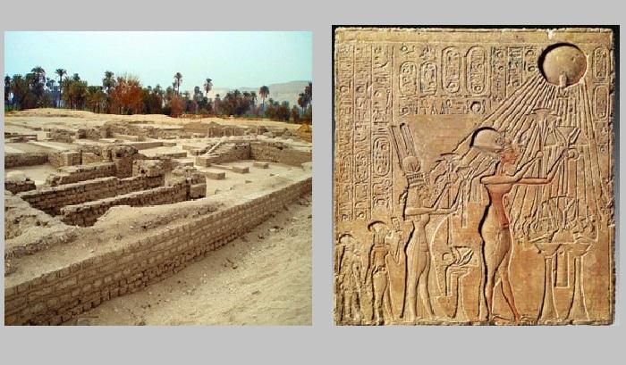 История любви фараона Аменхотепа и египетской царицы Нефертити