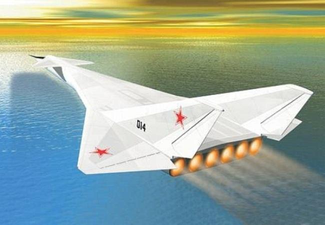 История самолетов с атомным реактивным двигателем