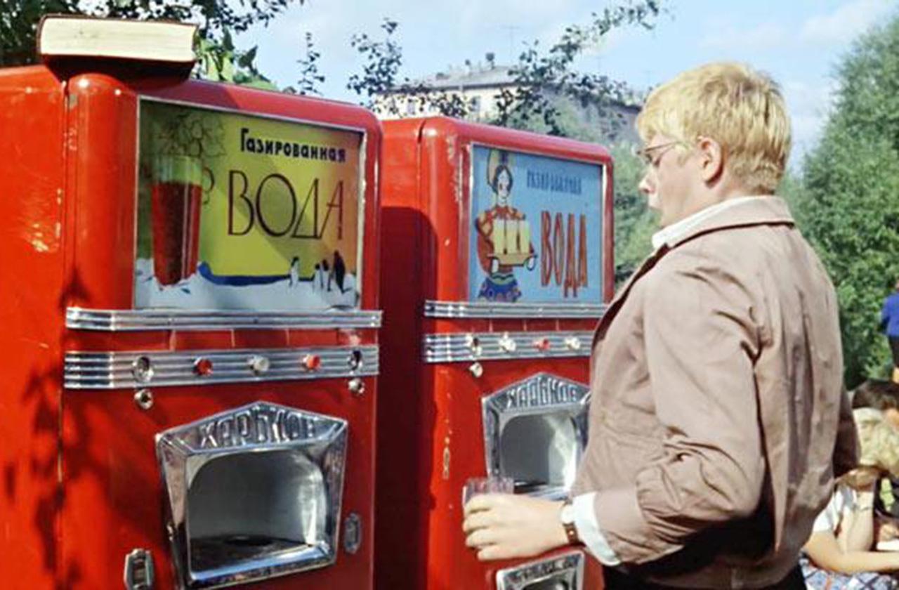 История вендингового автомата в СССР