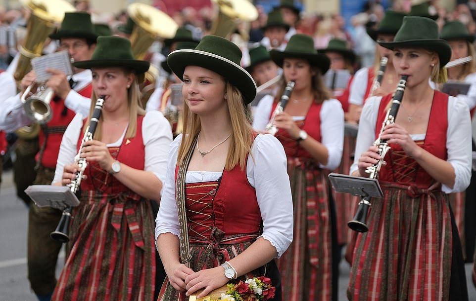 Октоберфест 2019 стартовал в Мюнхене