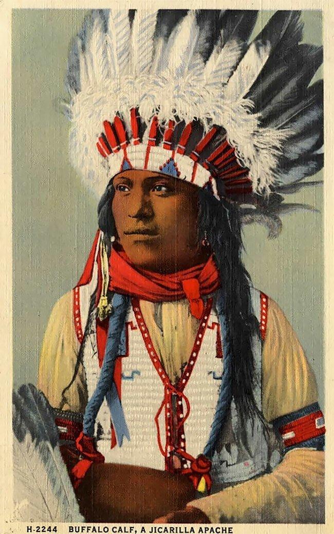 Amerikai bennszülött élet a 20. századi képeslapokon