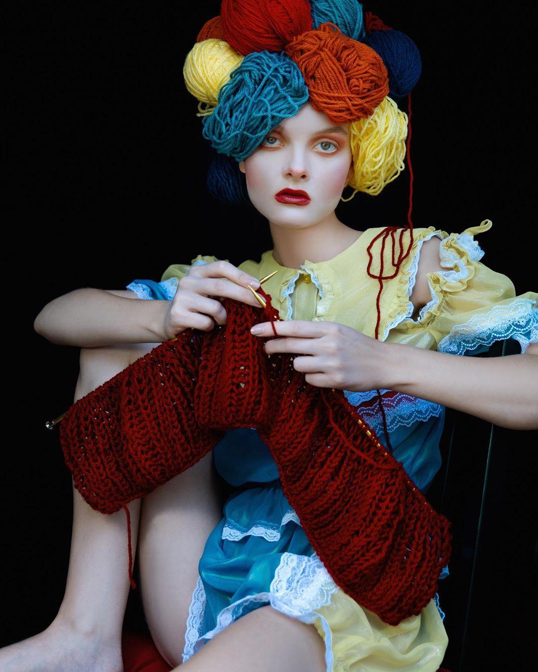 Мода и гламур на портретных снимках Екатерины Белинской