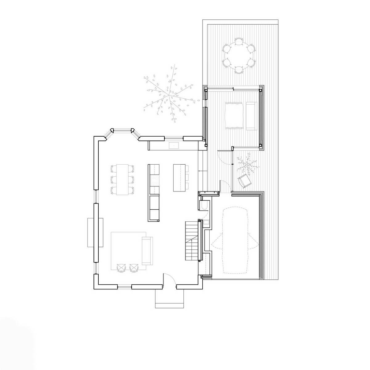 Обновление дома 1950-х годов в Канаде
