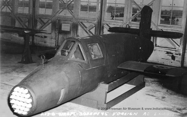 Одноразовый ракетный истребитель времен Второй мировой