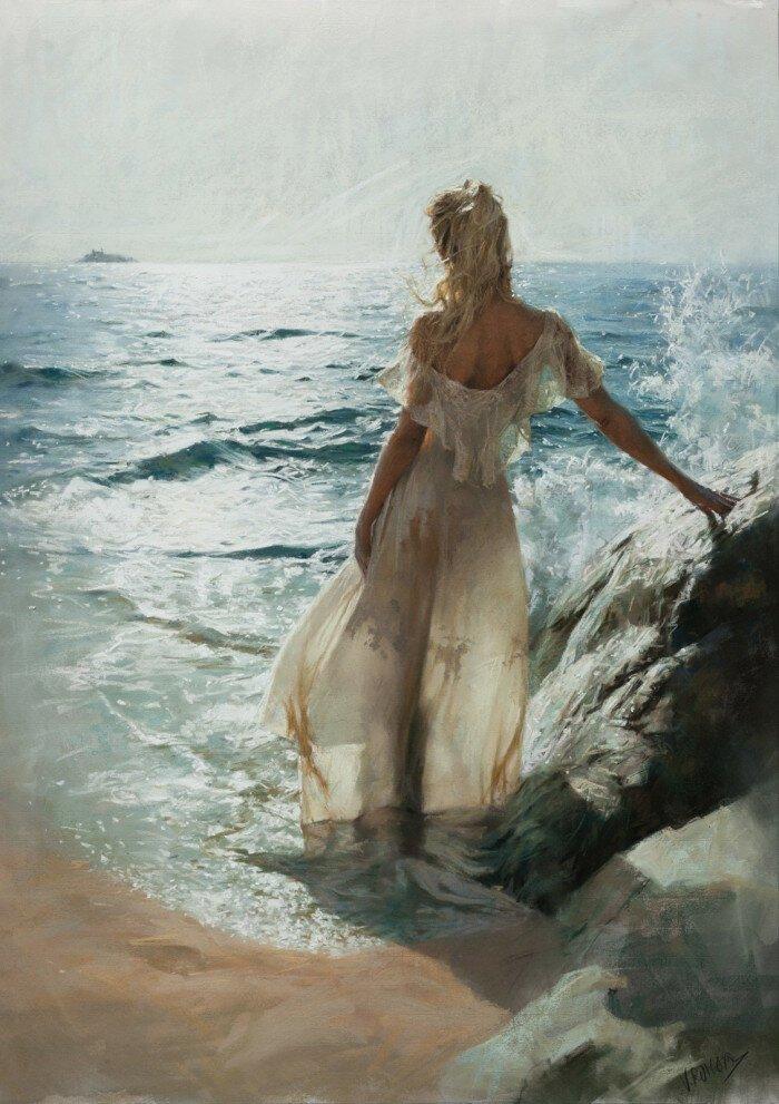 Нежная женская красота в картинах Висенте Ромеро Редондо
