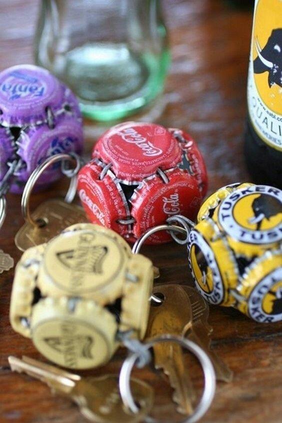 Поделки из крышечек от пивных бутылок