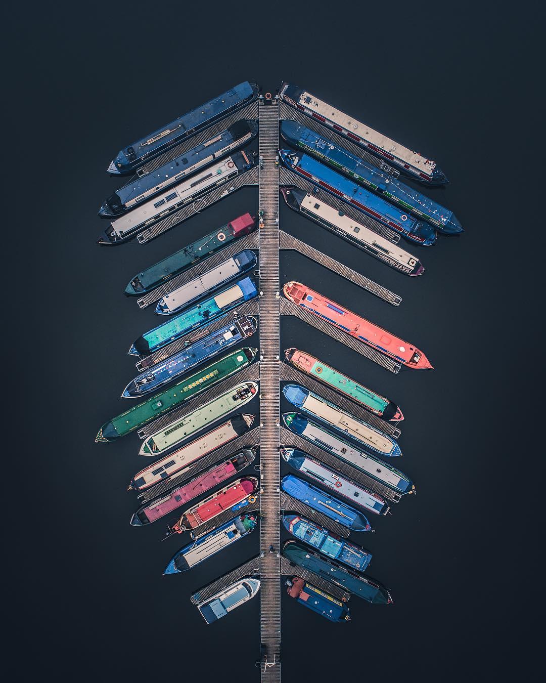 Абстрактное воздушное искусство от братьев-фотографов из Великобритании