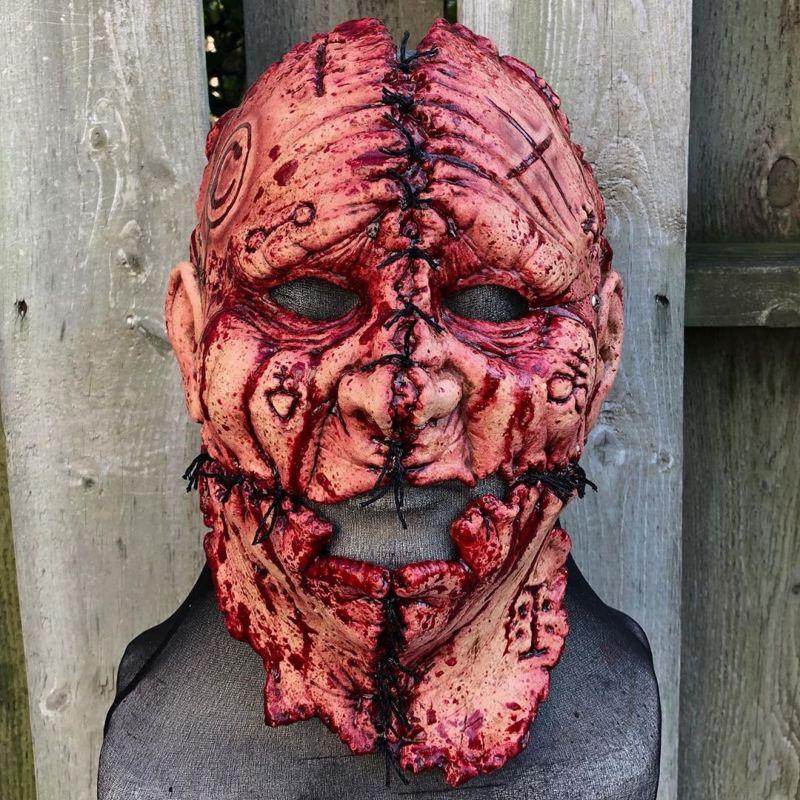 Жуткие маски из ночных кошмаров