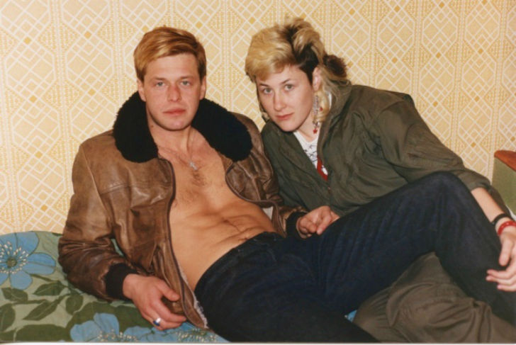 Звезды советского рока в молодости на архивных снимках