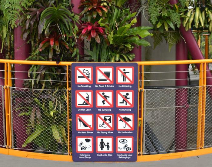 Некоторые отличительные особенности Сингапура