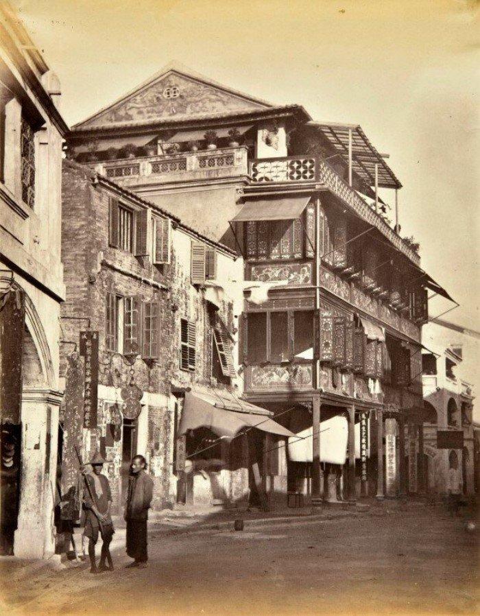 Гонконг 150 лет назад на снимках