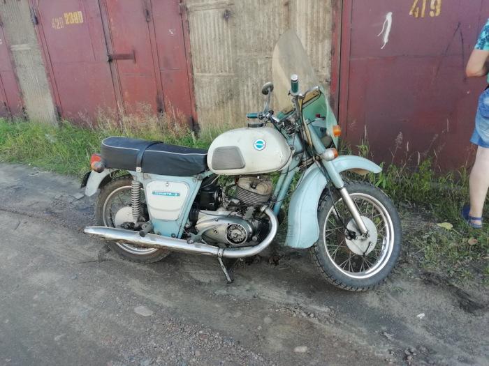 Легендарный советский мотоцикл ИЖ Планета-3
