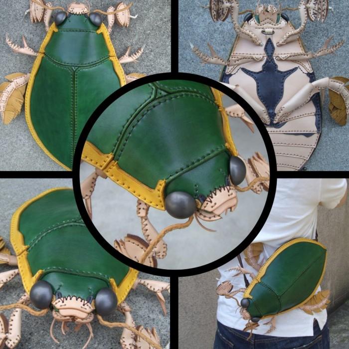 Японец делает реалистичные сумки в виде разных животных