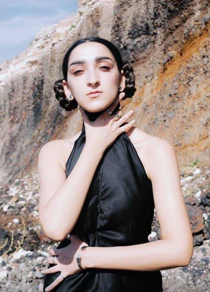 23-летняя Армине Арутюнян из Армении стала моделью Gucci