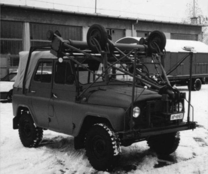 Для чего был нужен УАЗ-469 с двумя рулями
