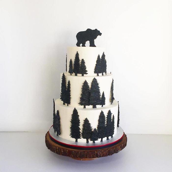 Красивые торты от канадского кондитера