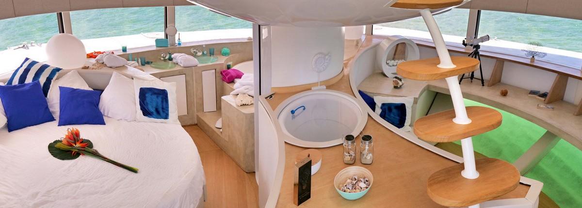 Плавучий отель в стиле Джеймса Бонда с подводными спальнями