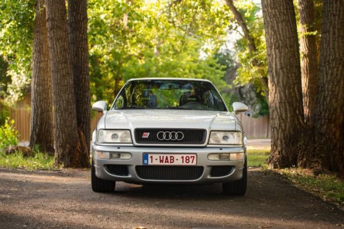 Редкий Audi RS2 Avant 1994 года, разработанный совместно с Porsche