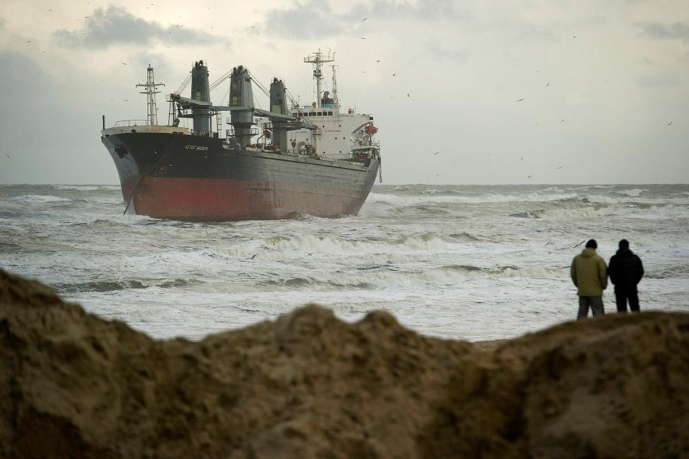 Севшие на мель морские гиганты