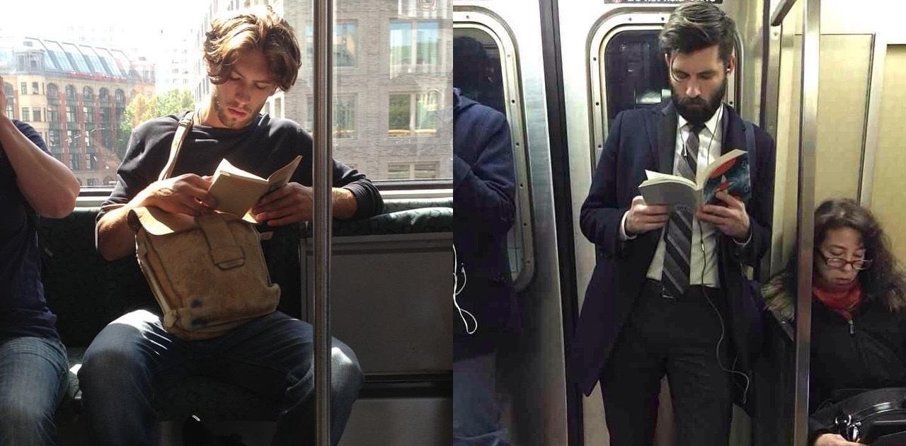15 горячих парней с книгами из Instagram (ФОТО)