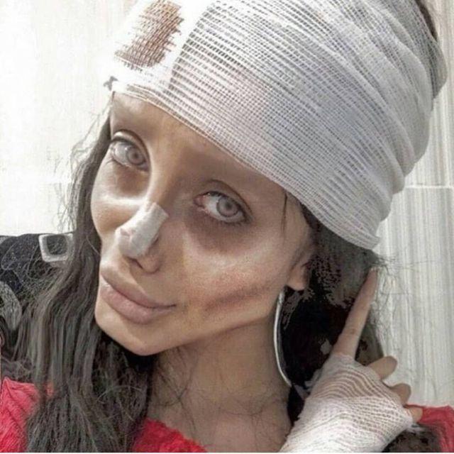 Иранскую копию Анджелины Джоли арестовали за богохульство