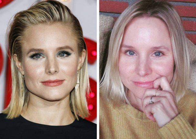 Знаменитые женщины на снимках без макияжа