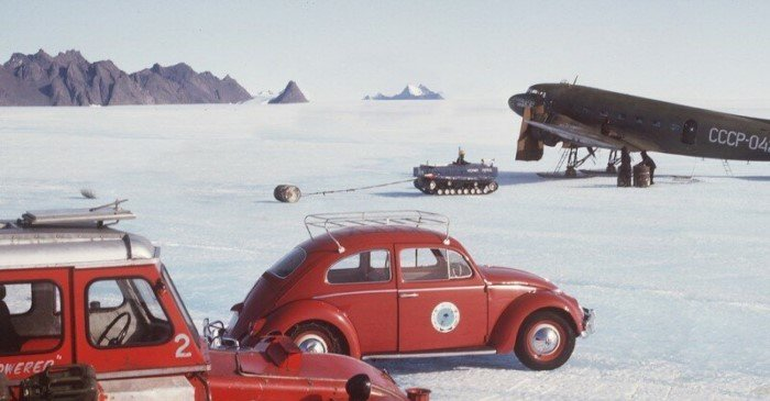 Volkswagen Beetle для полярников