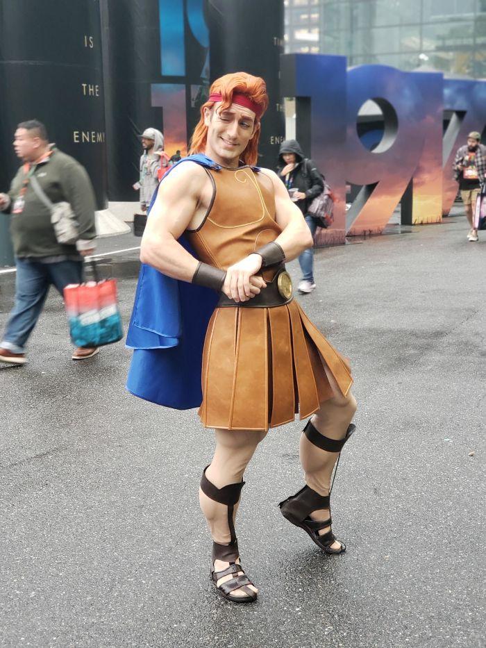 Яркие персонажи с фестиваля Comic Con 2019 в Нью-Йорке