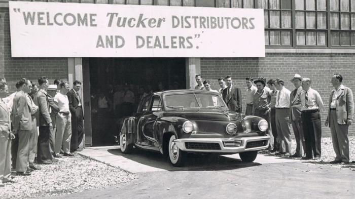 Запоздалое признание автомобилей Tucker