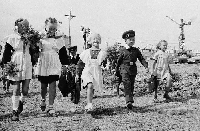 20 атмосферных фотографий советских детей